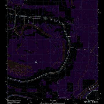 USGS TOPO Map Louisiana LA Big Bend 20120307 TM Inverted by wetdryvac
