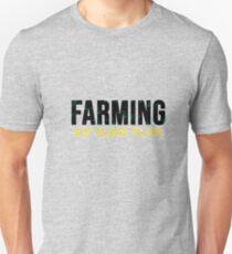 Farming Eat sleep plow  Unisex T-Shirt
