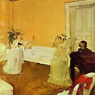 Edgar Degas French Impressionism Oil Painting Two Girls Singing by jnniepce