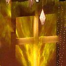 Cross on fire by kfurniz