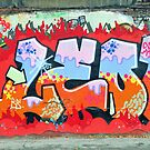 Colorful graffiti by lollored