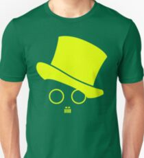 Fat cats and top hats Yellow Unisex T-Shirt
