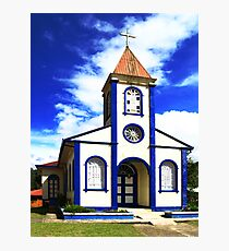 Curch in Cartago Photographic Print
