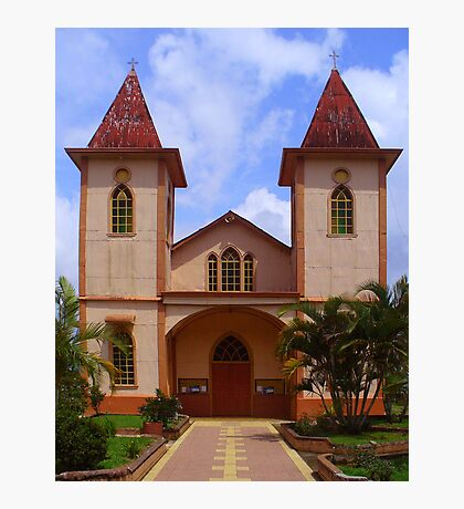 Barbacoa Church Photographic Print