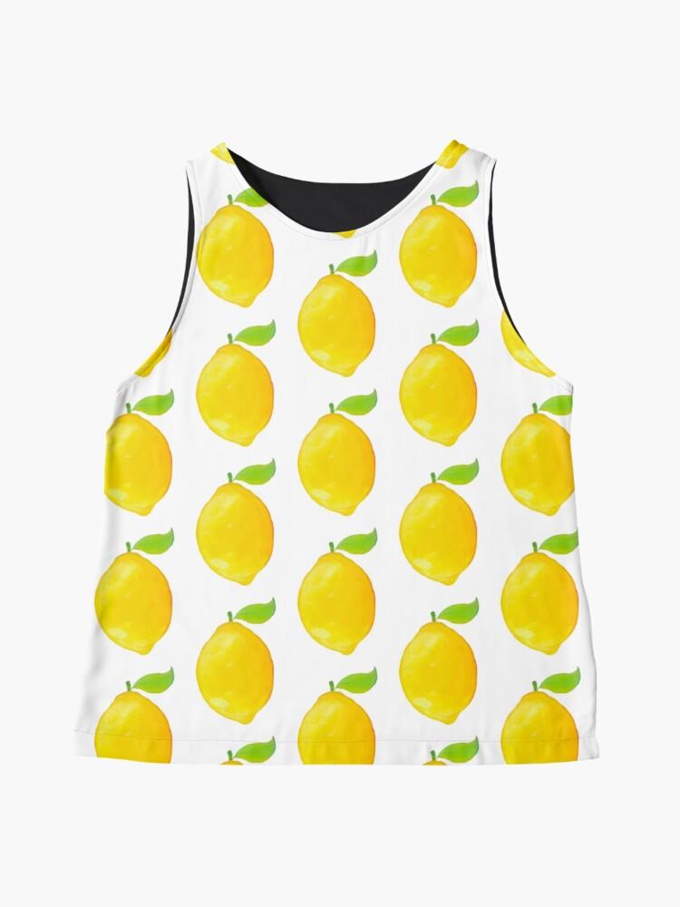 Alternative Ansicht von Zitrone Ärmelloses Top
