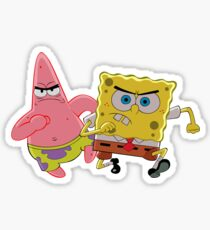 Spongebob Means Business  Sticker