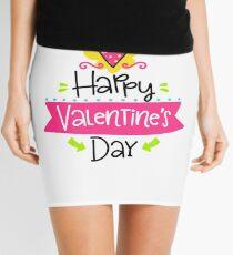 Happy Valentine's Day TShirt - Valentine Tee Mini Skirt