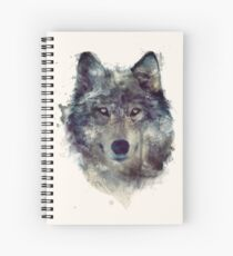 Wolf // Persevere Spiral Notebook