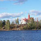 Restaurant Klippan, Helsinki Harbor by nealbarnett