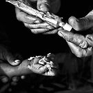 Healing Hands in Rajasthan , India by toby snelgrove  IPA