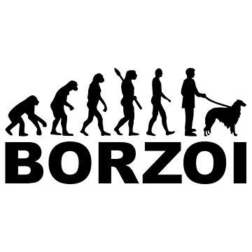 Borzoi evolution by Designzz