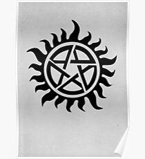 Supernatural Demon Possession Protection [BLACK] Poster