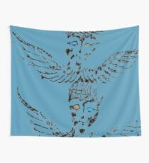 Abstract Angels Wall Tapestry