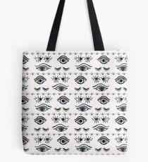 Magic All Seeing Eye Hand Drawn  Tote Bag