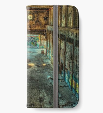 Abandoned Places Warehouse iPhone Wallet