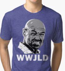 What Would John Locke Do - LOST Tri-blend T-Shirt