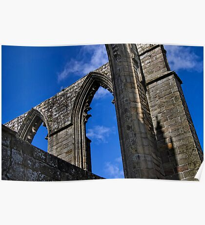 Arches at Bolton Abbey Poster