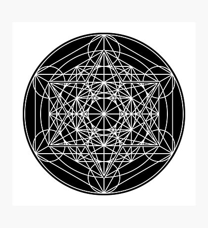 Metatron's Cube Expanded 003 Photographic Print
