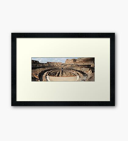 The Collessium Framed Print