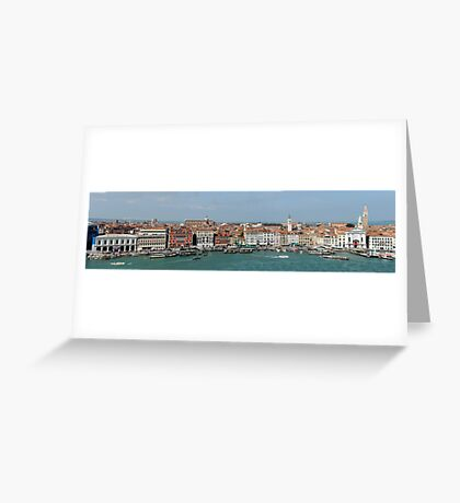 A View of Venice Greeting Card
