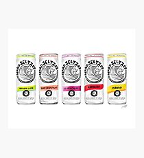 White Claw Illustration Photographic Print