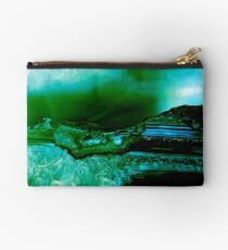 Agate Geode Abstract Studio Pouch