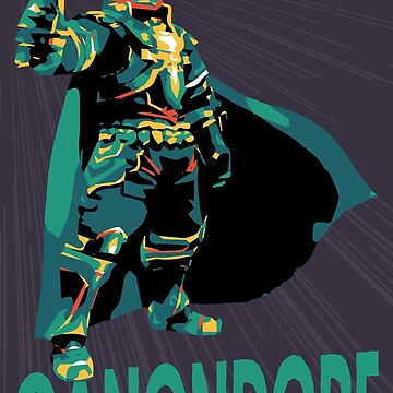 Ganondorf by Underbridge
