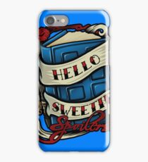 Hello Sweetie (pillow) iPhone Case/Skin