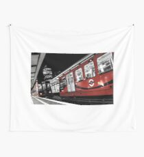 The Red Institution Wall Tapestry