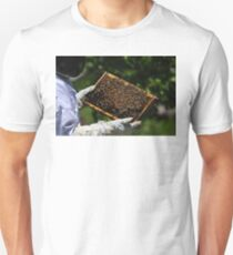 It was warm Unisex T-Shirt