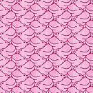 « Têtes en l'air les hippos - rose » par Hippopottermiss