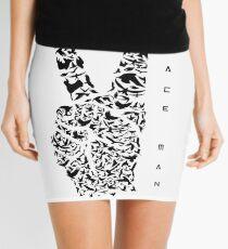 Peace Man - Design Mini Skirt