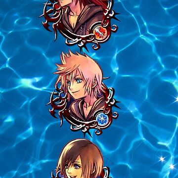 Kingdom Hearts-Roxas,Axel,and Xion ocean edit by SmolYoonbum
