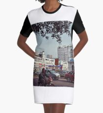 India. New Delhi. Graphic T-Shirt Dress