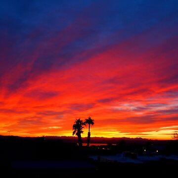 January Sunset by tvlgoddess