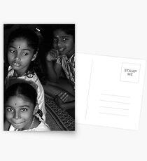 Hindu Children  Postcards