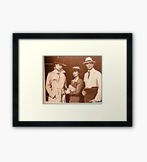 Guiding Light's Nola, Kelly and Quint in a Casablanca fantasy Framed Print