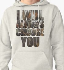 Delena quote Pullover Hoodie