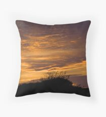 Norfolk Sunset Throw Pillow