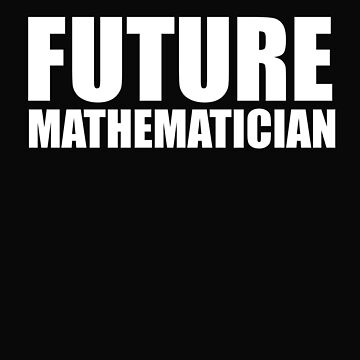 Future Mathematician College High School Graduate Graduation by losttribe