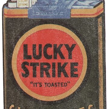 Lucky Strike It's Toast Cigarettes  by Deadscan