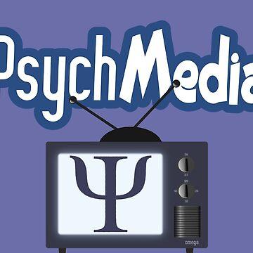 PsychMedia Logo by DiamandaHagan