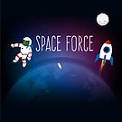United States Space Force - PEPE Astronaut by CentipedeNation