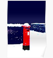 Snow Mail Today Poster