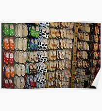 Clogs - In all shapes & sizes Poster