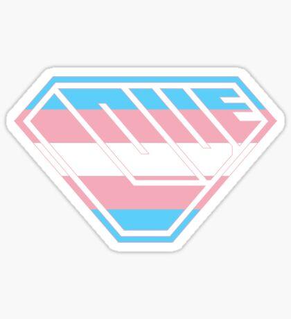 Love SuperEmpowered (Blue, Pink & White) Sticker