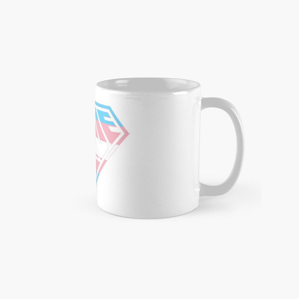 Love SuperEmpowered (Blue, Pink & White) Mugs