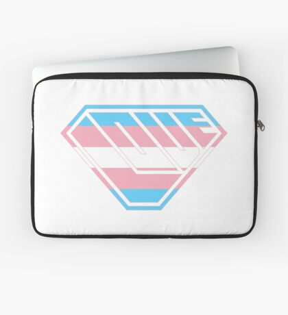 Love SuperEmpowered (Blue, Pink & White) Laptop Sleeve