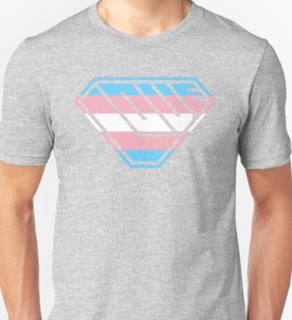 Love SuperEmpowered (Blue, Pink & White) T-Shirt