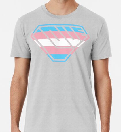 Love SuperEmpowered (Blue, Pink & White) Premium T-Shirt